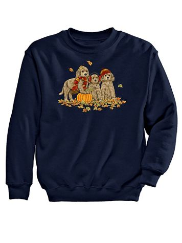 Trio Graphic Sweatshirt - Image 2 of 2