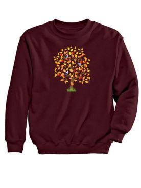 Tree Graphic Sweatshirt