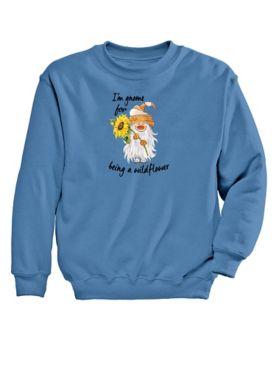 Gnome Graphic Sweatshirt