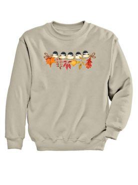 Chicadee Graphic Sweatshirt