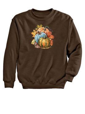 Pumpkins Graphic Sweatshirt