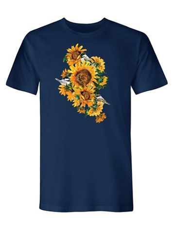 Sunflower Graphic Tee - Image 1 of 3