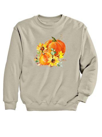 Pumpkins Graphic Sweatshirt - Image 2 of 2