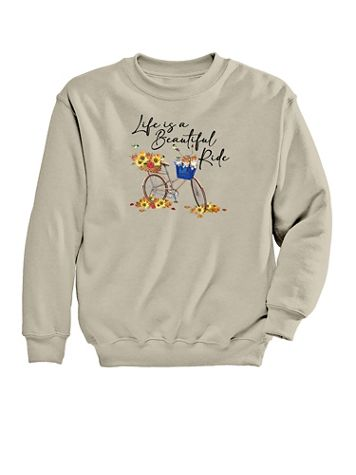 Ride Graphic Sweatshirt - Image 2 of 2