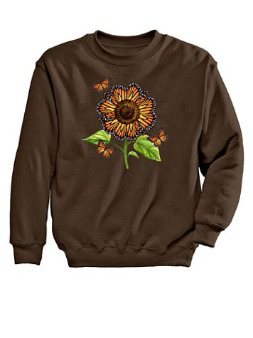 Monarch Graphic Sweatshirt - Image 2 of 2