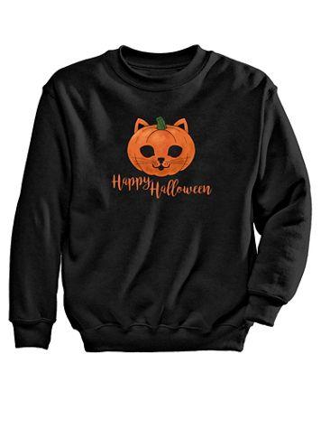 Halloween Graphic Sweatshirt - Image 2 of 2