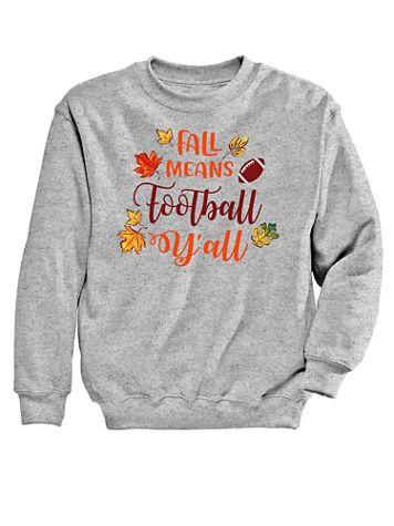 Football Graphic Sweatshirt - Image 2 of 2