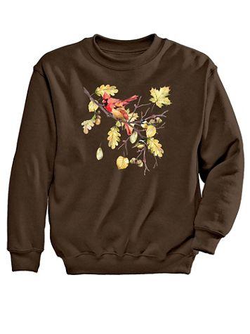 Bird Graphic Sweatshirt - Image 2 of 2