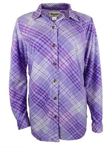 Fleece Button-Front Shirt - Image 1 of 3
