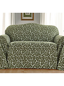 Damask Print Furniture Throw