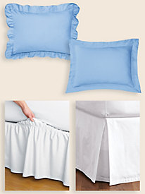Cotton-Rich Bedding Accessories
