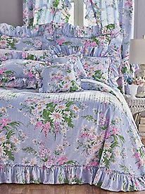 Plissé Ruffled Bedspread and Coordinates
