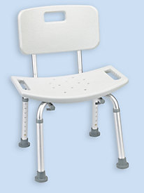 Bathroom Safety Shower Tub Bench Chair with Back