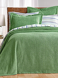 Logan II Channel Chenille Bedspread Set