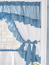Taylor Kitchen Valance and Topper by Blair