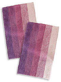 Ombre 2-Piece Bath Rug Set