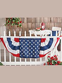 American Flag Bunting by Blair