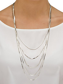 Multi Strand Waterfall Necklace