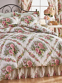 Cottage Rose Comforter Set and Coordinates
