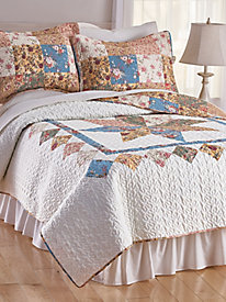 Country Romance Reversible Quilt Set