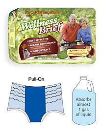 Super-Absorbent Pull-On Wellness Underwear