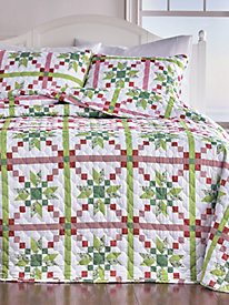 Holiday Reversible Bedspread Set