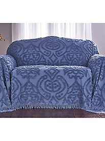 Colonial Chenille Furniture Throw