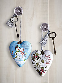 Art Heart Ornament