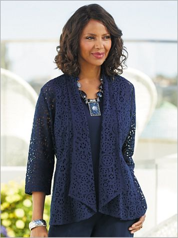 Ming Lace Cardigan - Image 3 of 3