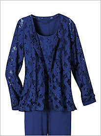London Lace Cardigan by Brownstone Studio®