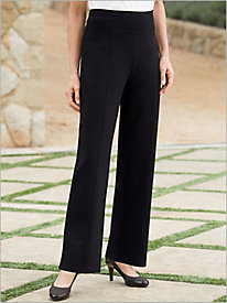 Slimtacular® Ponte Knit Straight Leg Pull-on Pants