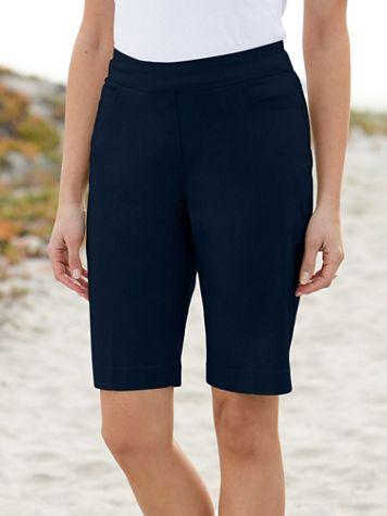 Slimtacular® Pull-On Shorts - Image 1 of 6