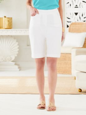 Slimtacular® Pull-On Shorts