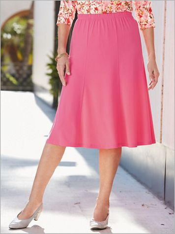 Crepe Knit Skirt - Image 1 of 3