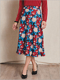 Bloomsbury Floral Skirt by Brownstone Studio®