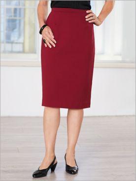 Slimtacular® Ponte Sophisticate Skirt