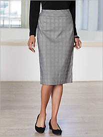 Glen Plaid Skirt by Brownstone Studio®
