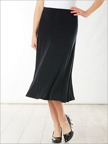 Signature Knits® Gored Skirt - Image 0 of 3