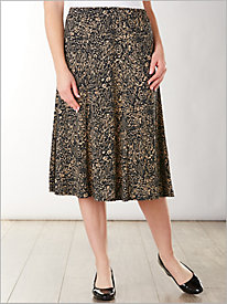 Sahara Print Skirt