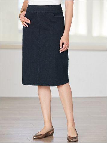 Slimtacular® Denim Skirt - Image 1 of 2