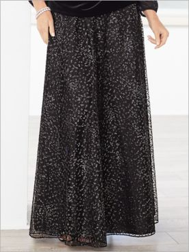 Sparkle Dot Skirt by Alex Evenings