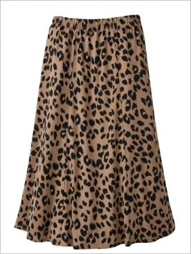 Animal Instinct Knit Skirt