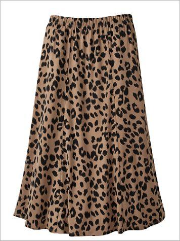 Animal Instinct Knit Skirt