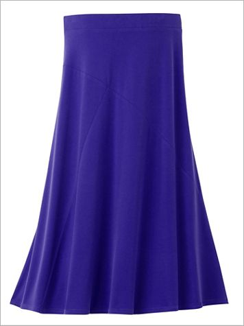 Premium Knit Pull-On Skirt - Image 1 of 3