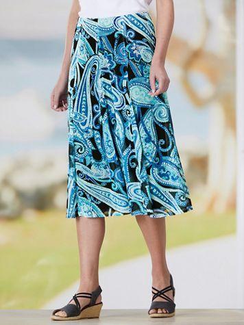 Mystic Paisley Mesh Skirt - Image 2 of 2