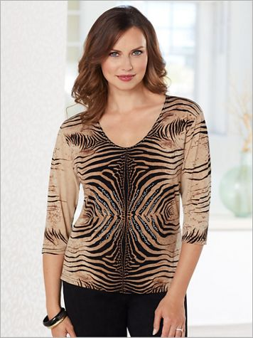 Wild Thing Print Top - Image 2 of 2