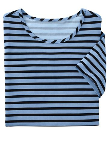 Stripe Knit Tee by Brownstone Studio® - Image 1 of 6