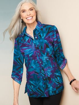 Tropical Print Shirt by Brownstone Studio®