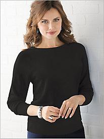 Soft Spun® Jewel Neck Sweater