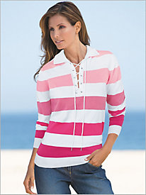 Together Ombr&#233 Stripe Sweater